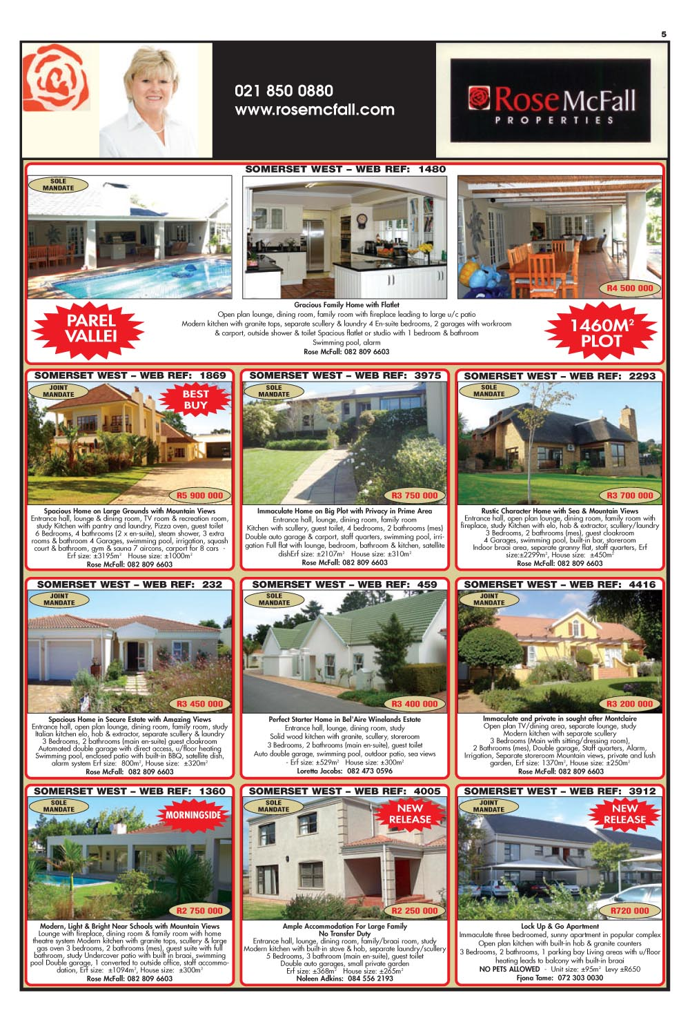 You are browsing images from the article: Property Selection -  January 25th 2012