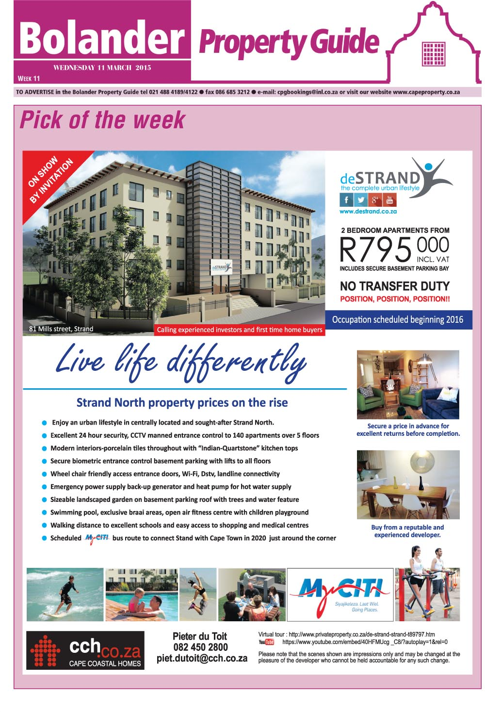 You are browsing images from the article: Property Selection March 112015