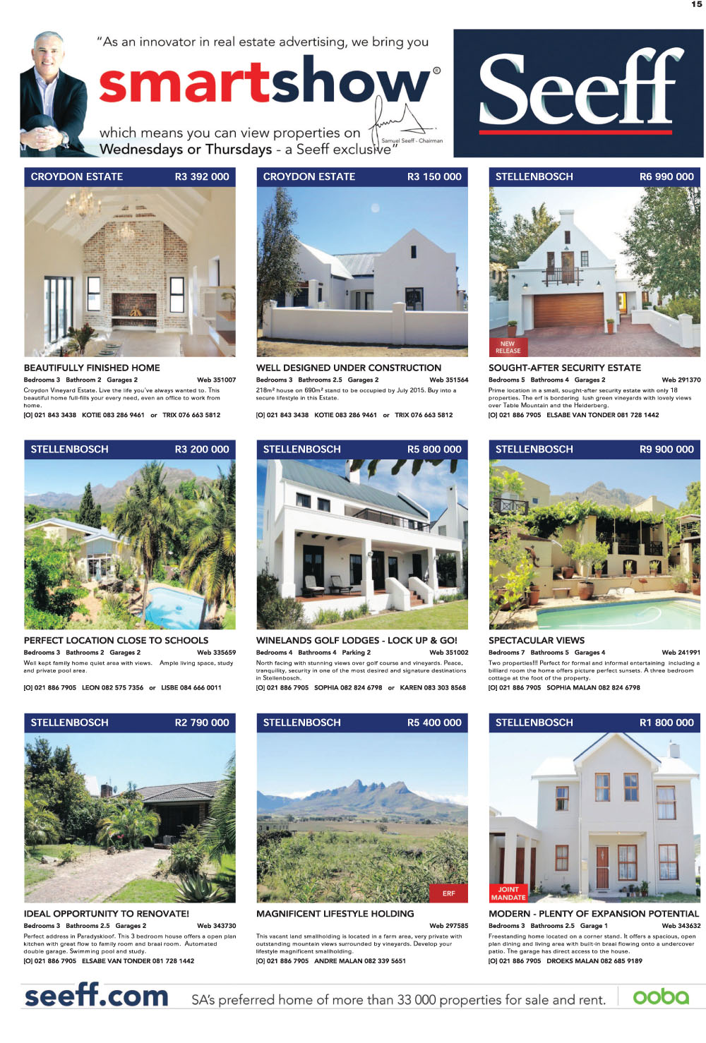 You are browsing images from the article: Property Selection May 06 2015