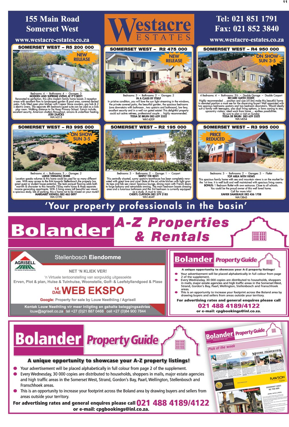 You are browsing images from the article: Property Selection May 13 2015