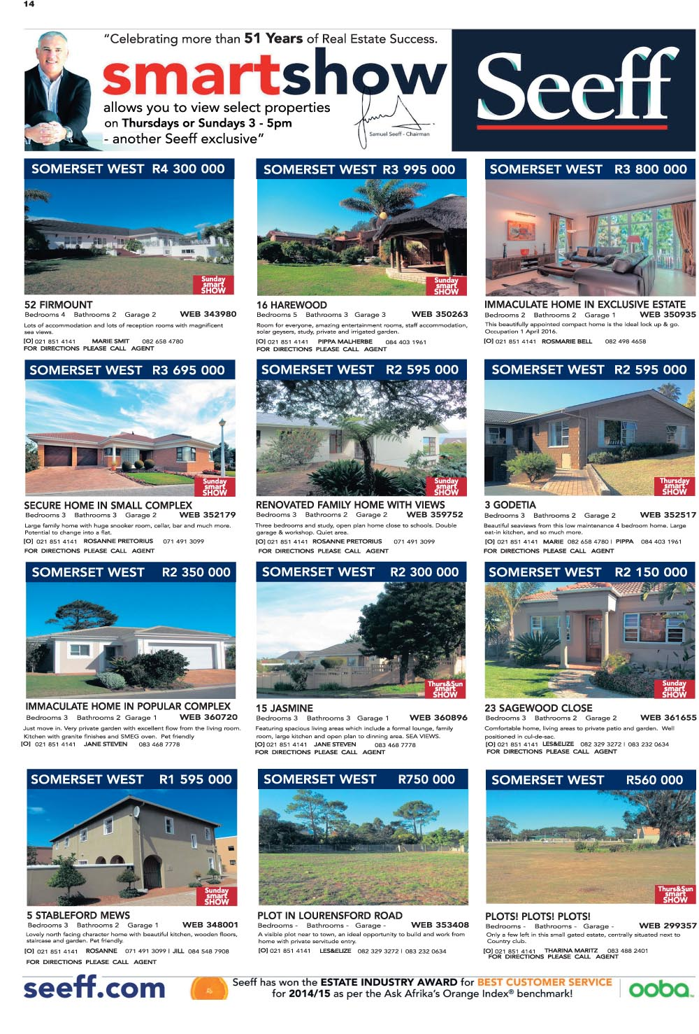 You are browsing images from the article: Property Selection-September 09 2015