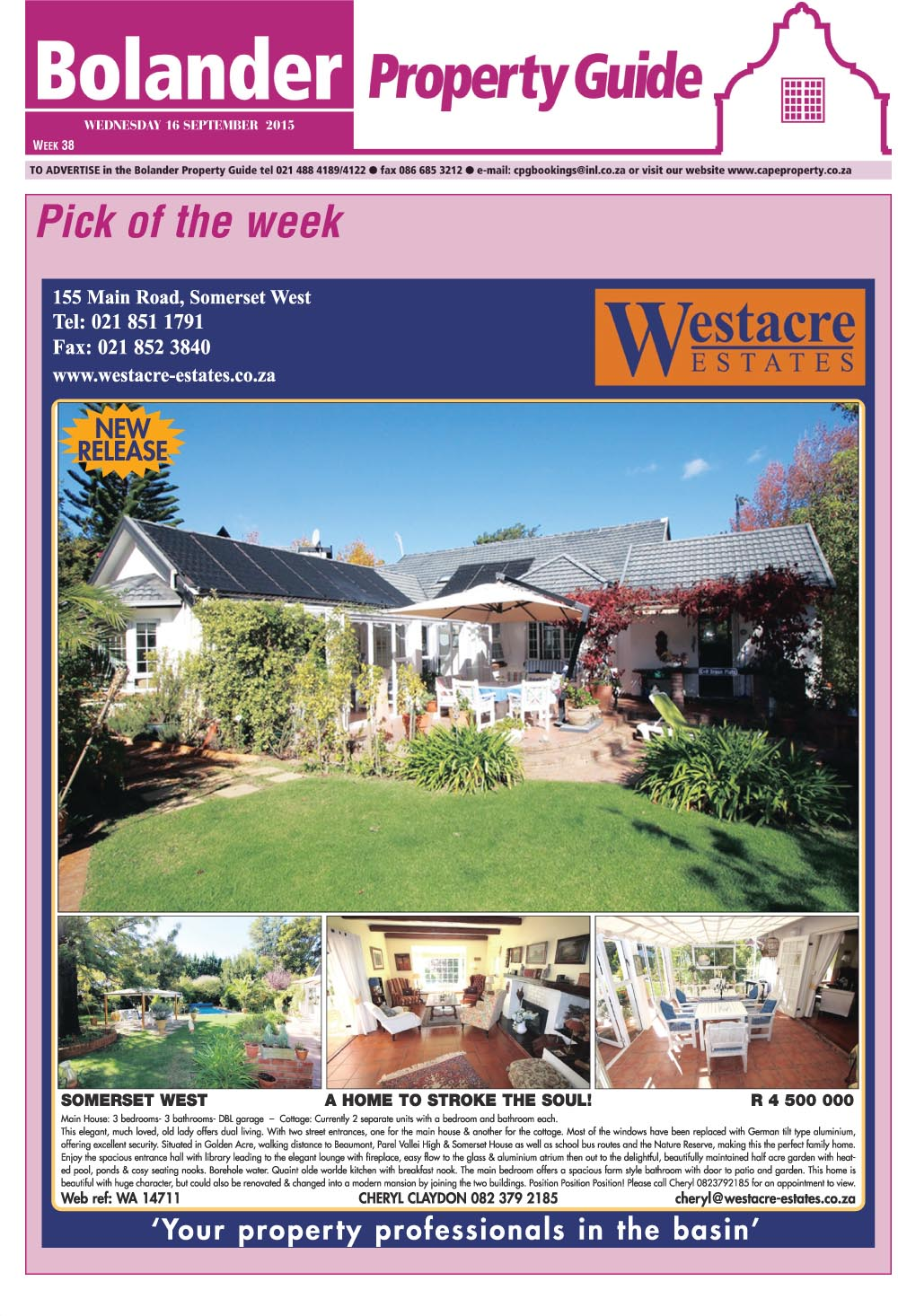 You are browsing images from the article: Property Selection-September 16 2015