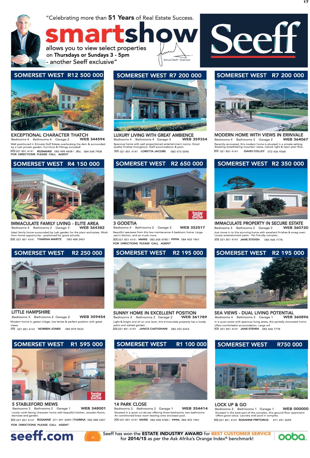 You are browsing images from the article: Property Selection-September 23 2015
