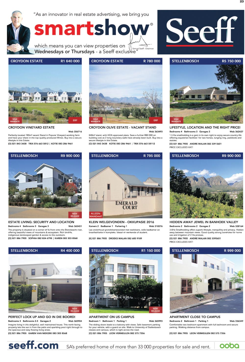 You are browsing images from the article: Property Selection-October 14 2015