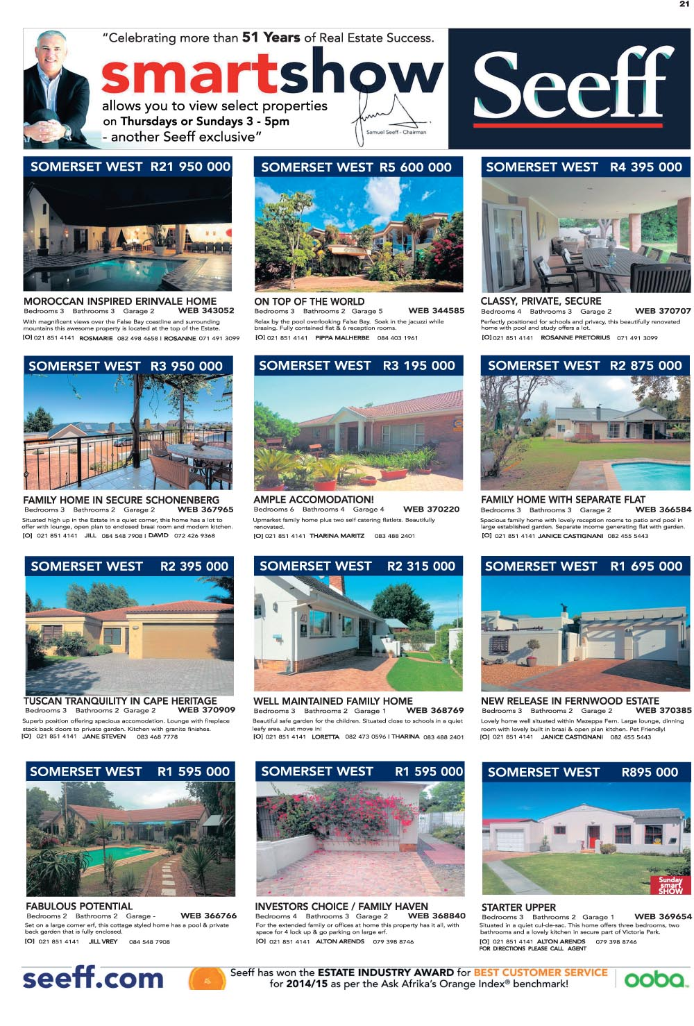 You are browsing images from the article: Property Selection December 02 2015