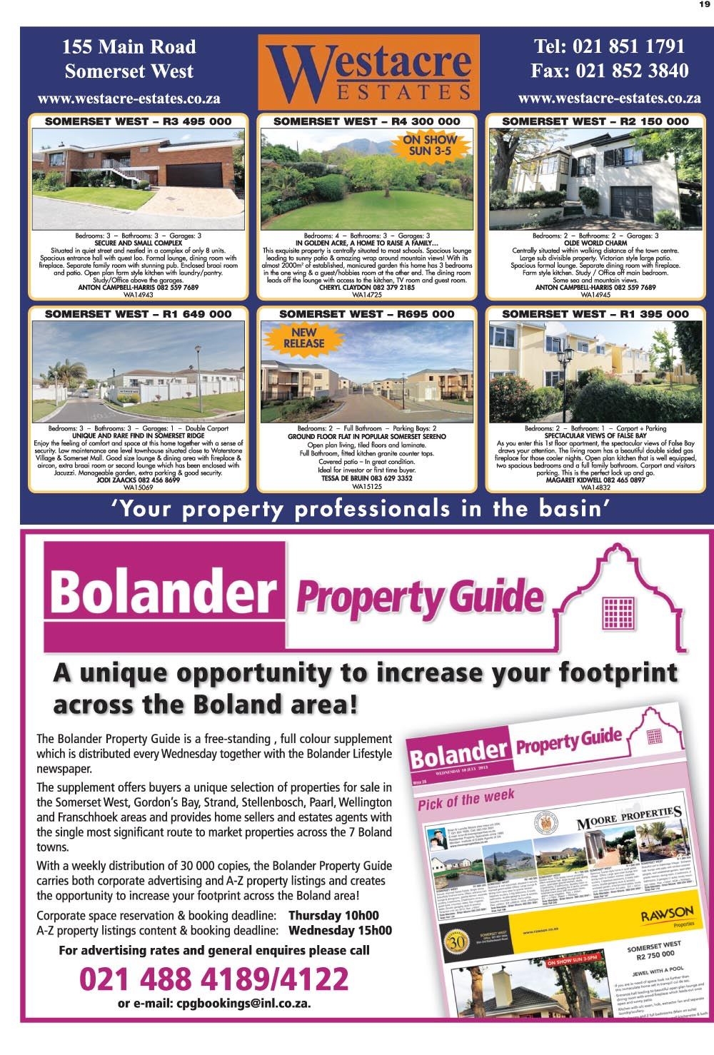 You are browsing images from the article: Property Selection December 09 2015