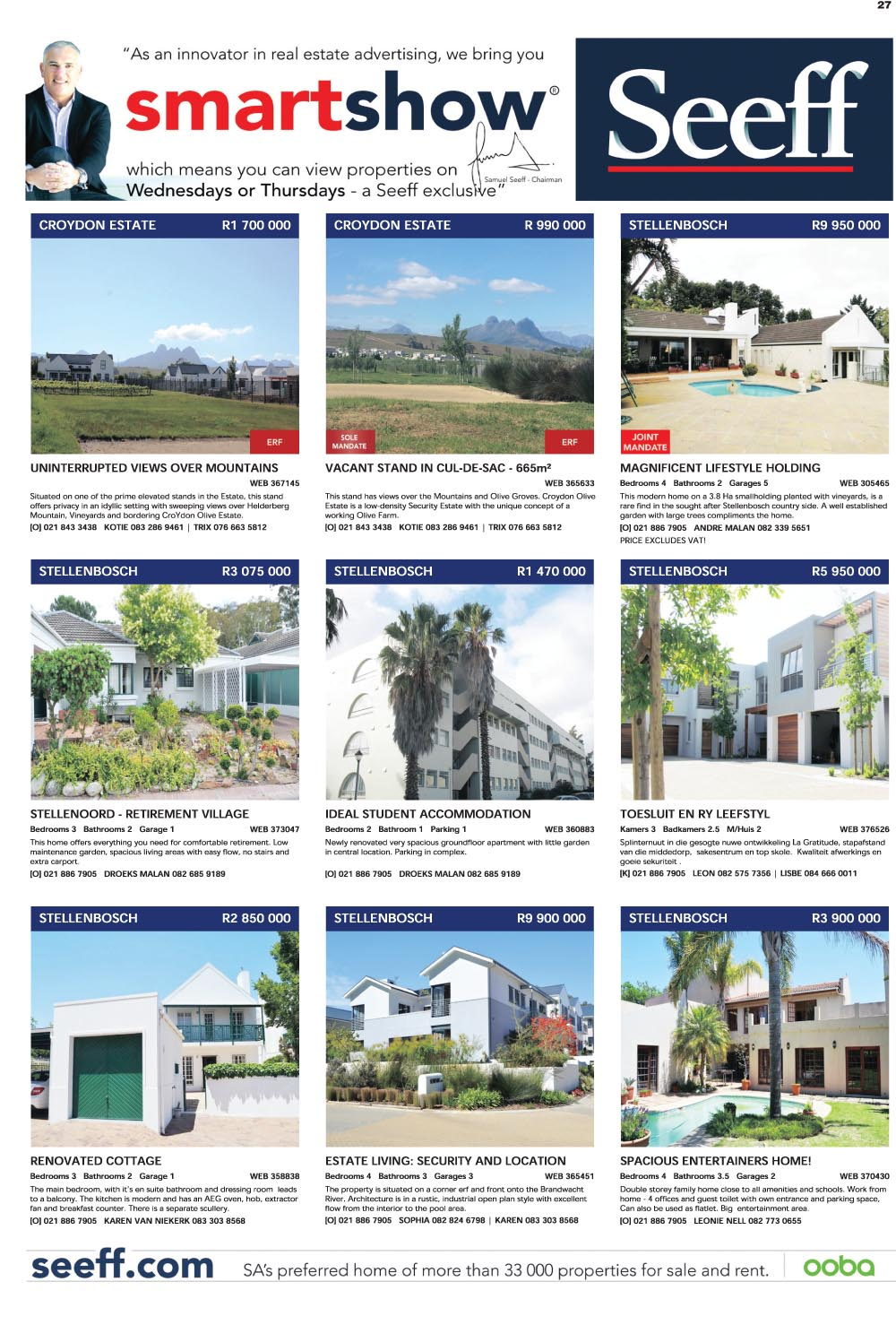 You are browsing images from the article: Property Selection 24 Febuary-2016