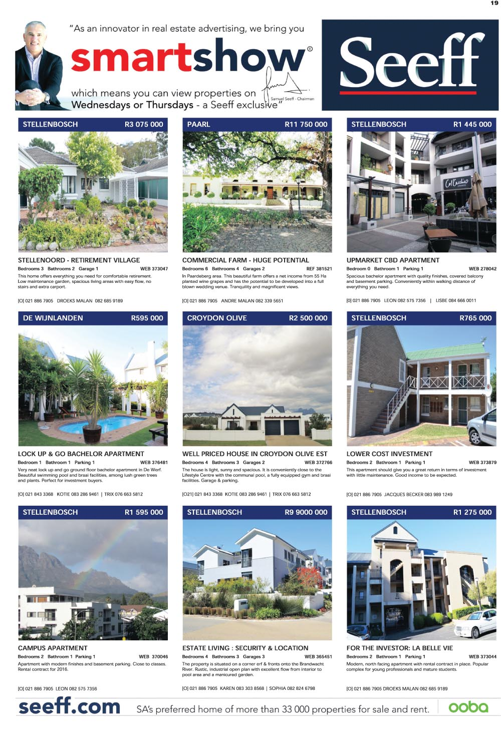 You are browsing images from the article: Property Selection 09 March-2016