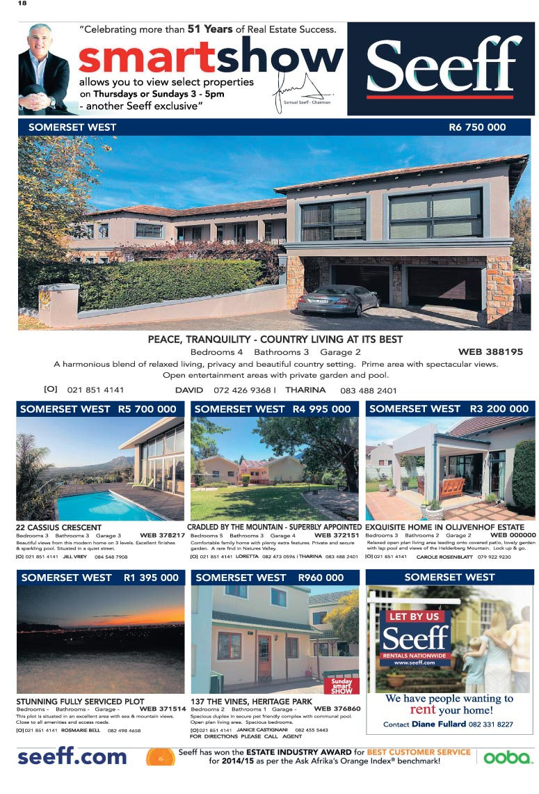You are browsing images from the article: Property Selection 20 April 2016