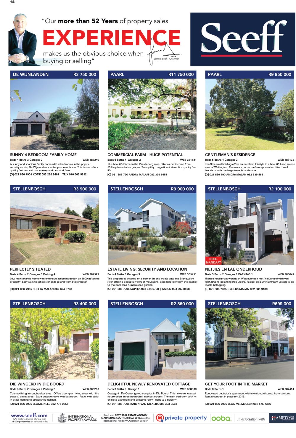 You are browsing images from the article: Property Selection 27 April 2016
