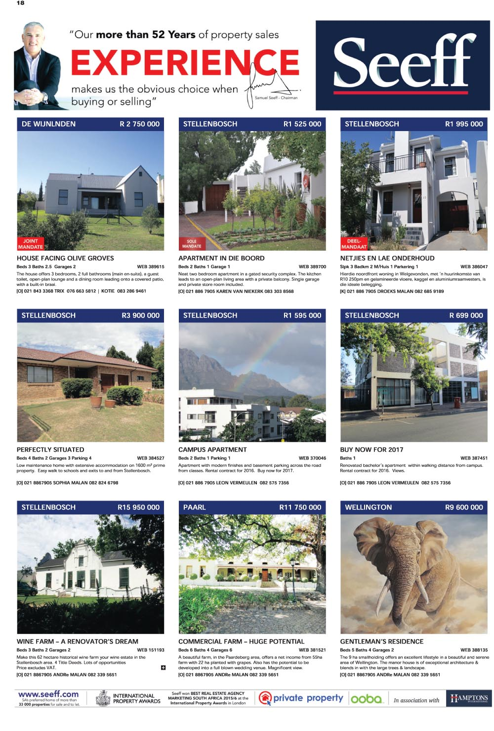 You are browsing images from the article: Property Selection 18 May 2016