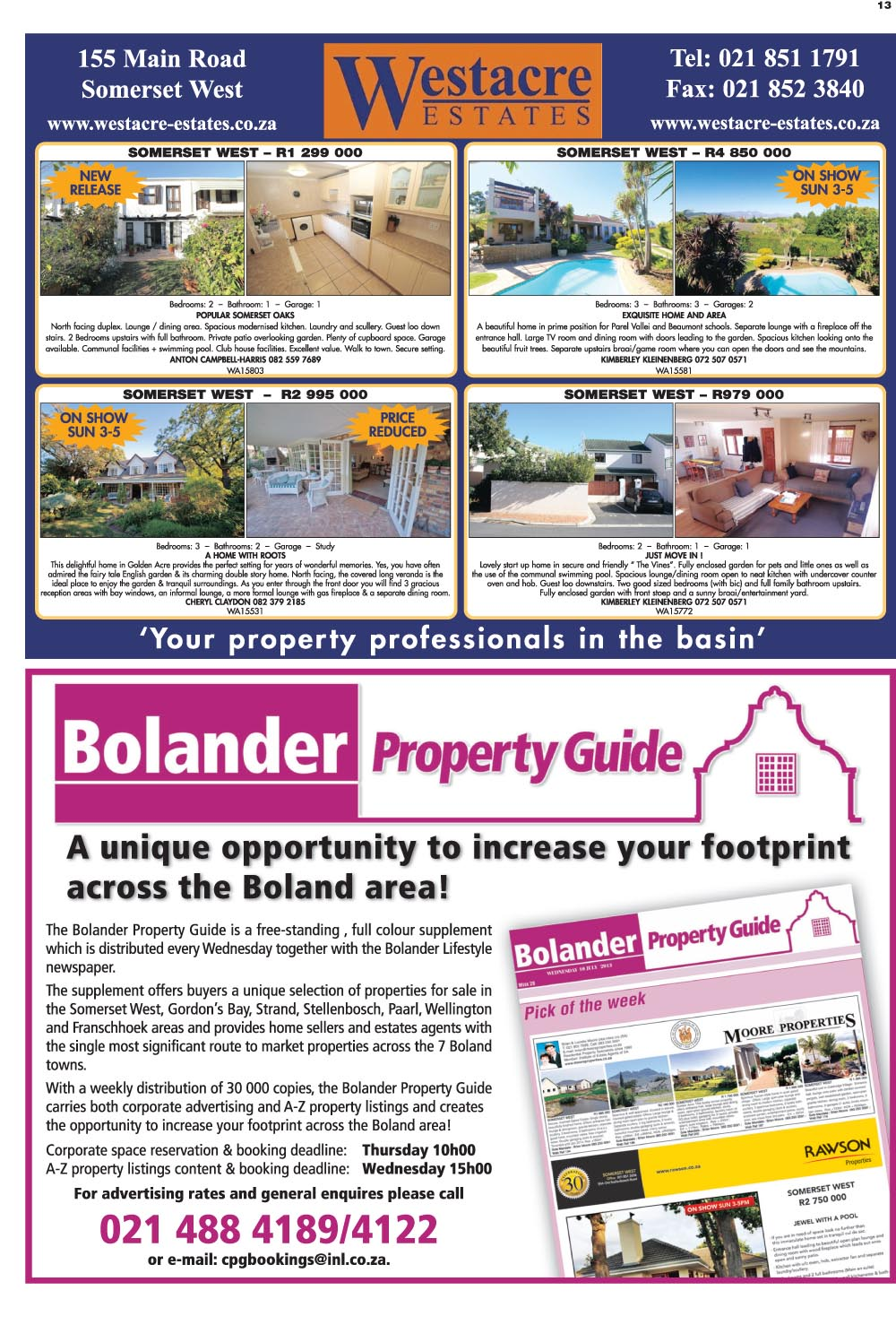 You are browsing images from the article: Property Selection 15th June 2016