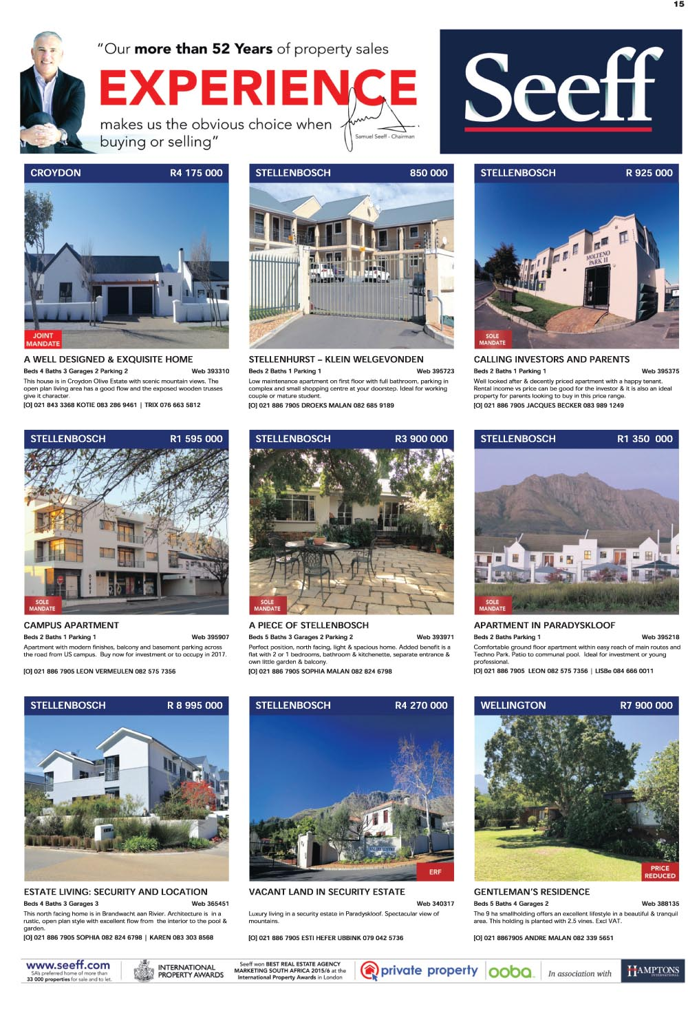 You are browsing images from the article: Property Selection 13th July 2016