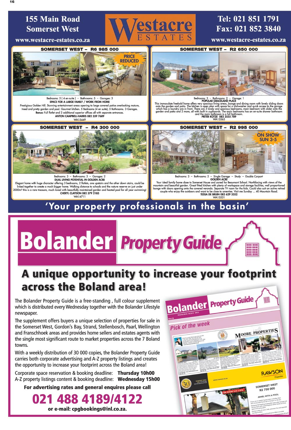 You are browsing images from the article: Property Selection 20th July 2016