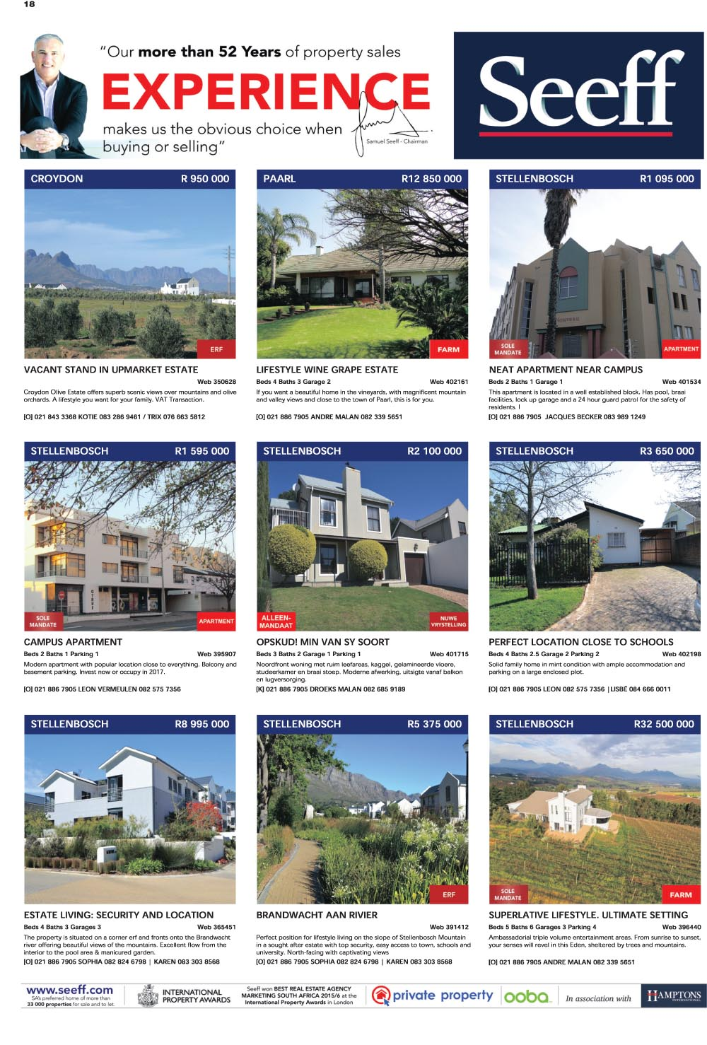 You are browsing images from the article: Property Selection 14thSeptember 2016