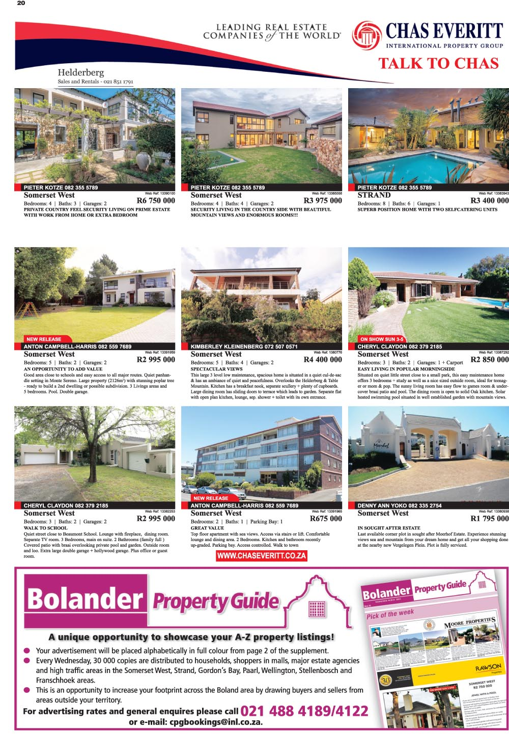 You are browsing images from the article: Property Selection 28th September 2016